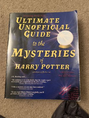 """""""Ultimate Unofficial Guide to the Mysteries of Harry Potter"""" for Sale in Huntington Beach, CA"""