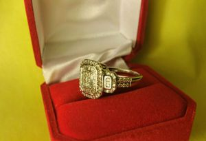 Wedding ring real vvs real buyer solid gold if you looki g for a ring for you girl or wifey hmu for Sale in Hartford, CT