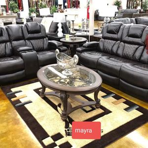 ..reclining Living Room Set 🆕 Sofa Loveseat. Delivery Available for Sale in Katy, TX