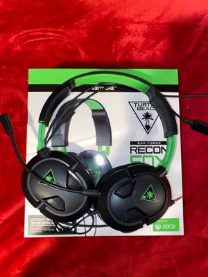 Turtle beach ear force recon 50x XboxOne headset for Sale in Brockton, MA