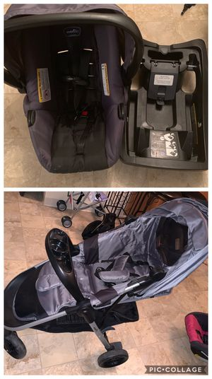Graco car seat, base and stroller for Sale in Scottsville, NY