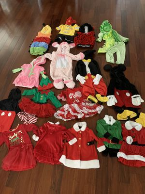 Lot of 16 Halloween costumes for babies and toddlers for Sale in Bensalem, PA