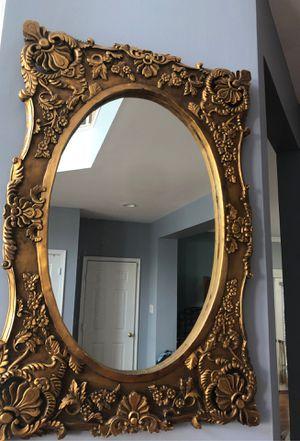 Antique oval mirror for Sale in Alexandria, VA