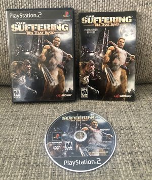 The Suffering Ties That Bind (Sony PlayStation 2, 2004) PS2 Complete w/Reg Card! for Sale in Fresno, CA