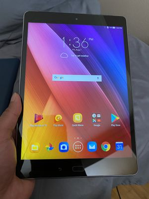 ASUS Zenpad Z10 Android Tablet (Verizon + WiFi) with accessories for Sale in Boise, ID