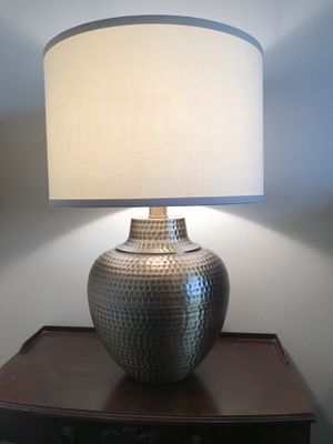 Brighton Hammered Pot table lamp for Sale in East Wenatchee, WA