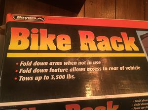 4 Bike Rack hitch - new in box for Sale in Atlanta, GA