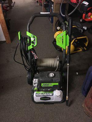 Greenworks 2000PSI electric pressure washer for Sale in Lynnwood, WA