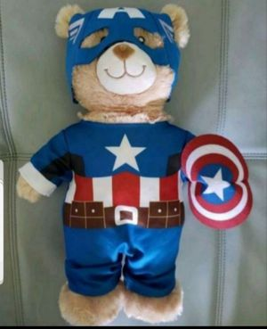 New Captain America Build A Bear for Sale in Tampa, FL