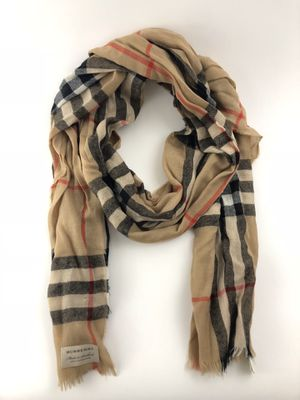 Burberry Lightweight Cashmere Check Long Scraf for Sale in San Jose, CA