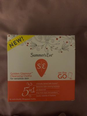 Summers Eve Cleansing Cloths for Sale in Tampa, FL