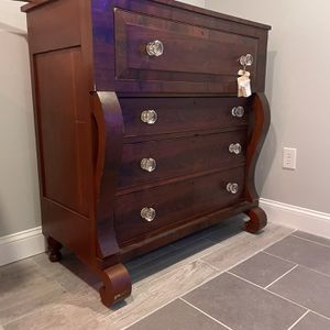 Empire-style, Footed Dresser for Sale in Arlington, VA