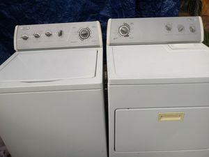 Washer and dryer matching set excellent condition sold together or separately (Del. is Poss.) Pa or NJ. for Sale in Philadelphia, PA