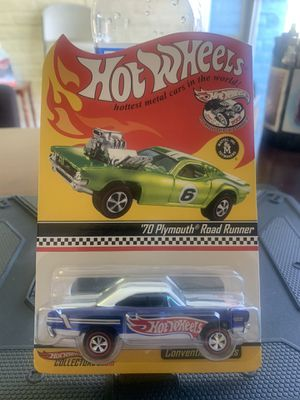 Hot Wheels 21st Annual Collectors Convention RLC 70 Plymouth Road Runner Low # for Sale in Fresno, CA