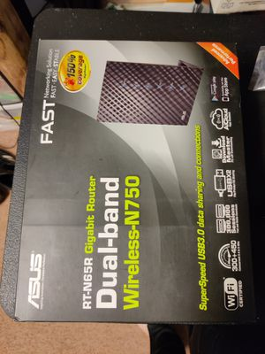 Asus RT-N65R dual band wireless router for Sale in Arnold, MD