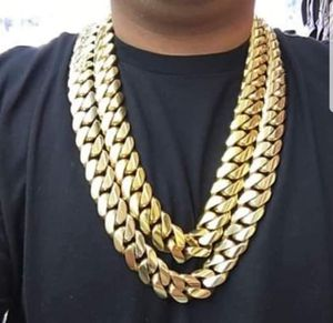 Chain and Bracelet 2OMM Cuban Link 14K Gold Plated Doesn't Loses Color for Sale in Worcester, MA