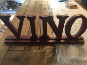 Vino decor for Sale in Euless, TX