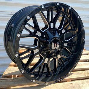 "Brand New 20"" WPXT 20X10 6X139.7 / 6x135 Black Milled Wheels for Sale in Miami, FL"