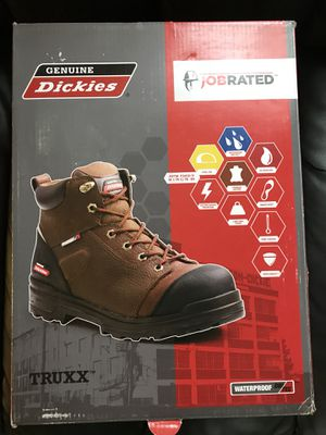 New Dickies truxx work boots for Sale in Magna, UT