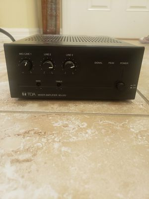 Mixer Amplifier BG-220 for Sale in Oldsmar, FL