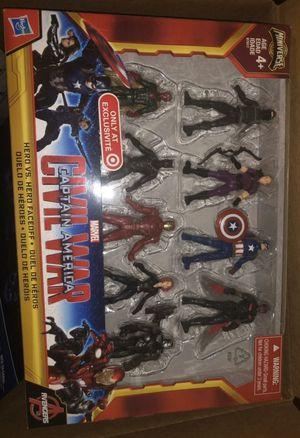 Civil War Captain America Faceoff Figure Set for Sale in Columbus, OH