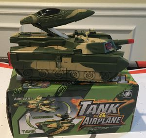 2 in 1 tank/ airplane toy for Sale in Redmond, WA