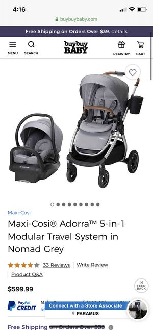 Maxi Cosi Adorra Stroller/Car seat Travel System for Sale in Hillsdale, NJ