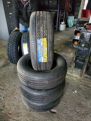 215/65/15 new tires for $340 with balance and installation we also finance {contact info removed} ask for Dorian 7637 airline dr houston TX 77037 for Sale in Houston, TX