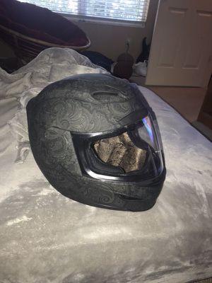 Practically new motorcycle helmet only worn twice for Sale in Manassas, VA