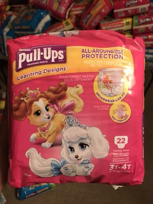 Huggies Pull-Ups - Girl for Sale in Kensington, MD