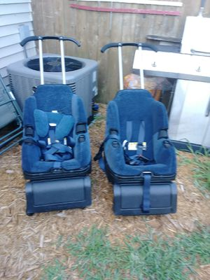 2 car seat strollers for Sale in Columbus, OH