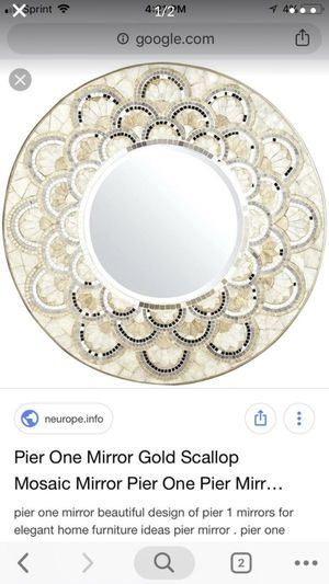 Wall mirror like new from pier one for Sale in Davie, FL