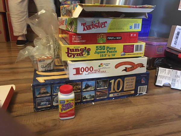 Board/Card games and puzzles