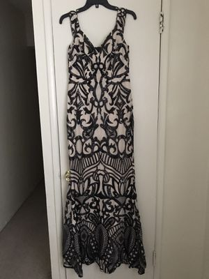 Black and beige sequins dress for Sale in Stanton, CA