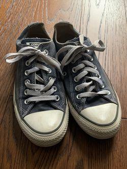 Navy Blue Converse Shoe for Sale in Yukon,  OK