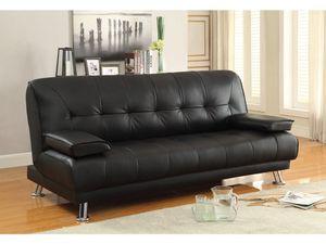 Sleeping futon sofa sleeper 79x44x19 new for Sale in North Miami Beach, FL