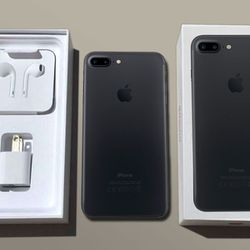 FLAWLESS Apple iPhone 7+ Plus 32GB Black Factory Unlocked with box works with all carriers both CDMA & GSM International for Sale in Los Angeles,  CA
