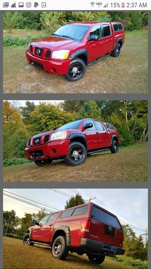 2004 Nissan Titan Endurance crew cab 4x4 for Sale in Acton, MA