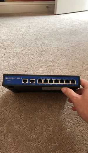 Juniper ssg5 router/firewall for Sale in Citrus Heights, CA