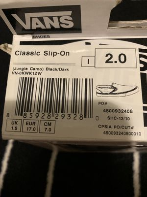 2.0 vans for Sale in Puyallup, WA