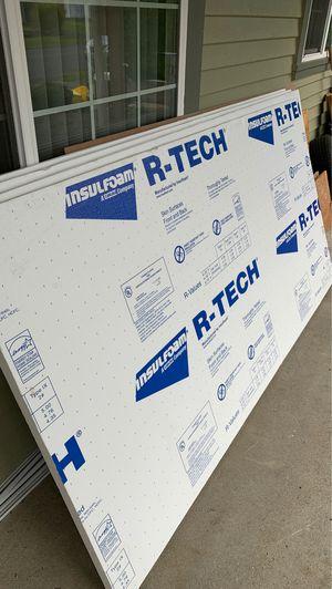 """1 1/2""""x 48"""" x 96"""" R-Tech insulation foam! 4 sheets for Sale in Renton, WA"""