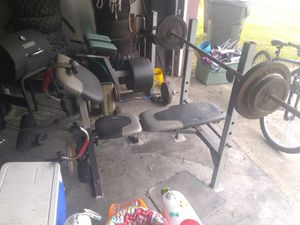 Weight bench for Sale in Port Charlotte, FL