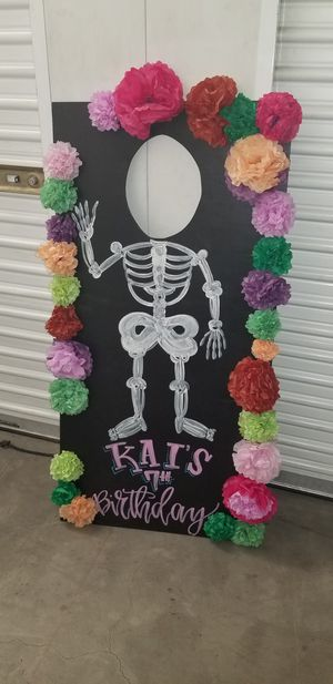 Dia de los muertos photo prop! for Sale in Corona, CA