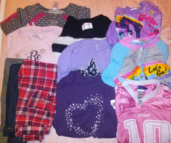 Lot of Girls 7/8 Used Clothing