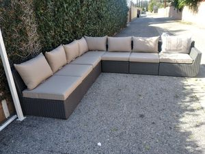 Outdoor patio sectional couch L shape sofa for Sale in Burbank, CA