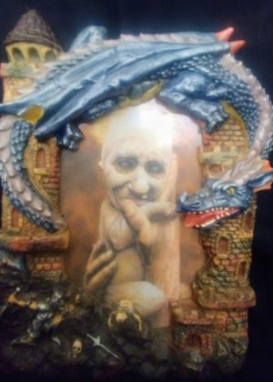 Blue Dragon picture frame for Sale in Amherst, VA