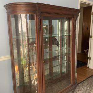 China Cabinet - Antique. for Sale in Bethesda, MD