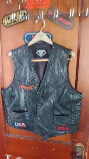 Motorcycle club vest size med to large for Sale in Detroit, MI