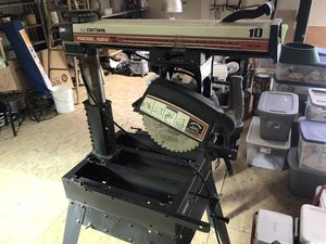 Craftsman Radial arm saw for Sale in Red Lion, PA