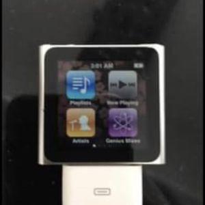 Apple iPod Nano 6th Generation 16GB Graphite for Sale in Ronkonkoma, NY